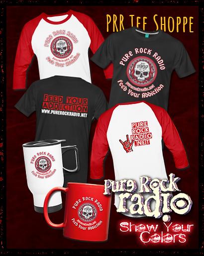 Pure Rock Radio Tee Shoppe