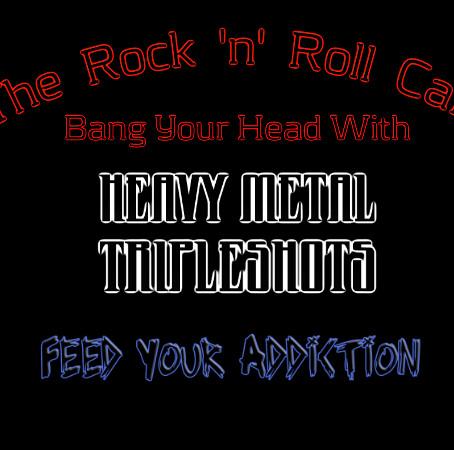 Rock 'n' Roll Café: Heavy Metal Tripleshots