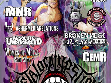 Canadian women-in-metal fest METALOCALYPSTICK announce 1st seven bands to line up!