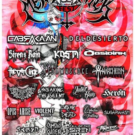 METALOCALYPSTICK unleashes FREE festival digital sampler - Metal Queens Vol. 2