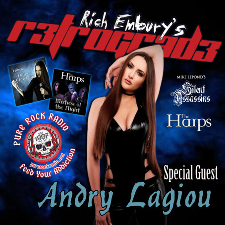 (Podcast) Metal Shinanigans & Andry Lagiou / Rich Embury's R3TROGRAD3