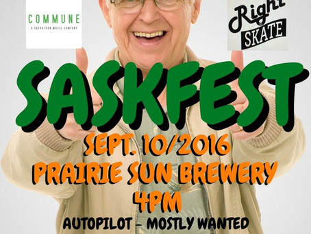 Local SASKATOON Rockers take the stage at SASKFEST Sept.10th