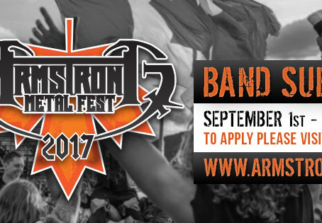 ARMSTRONG METAL FEST Band Submissions Now Open!