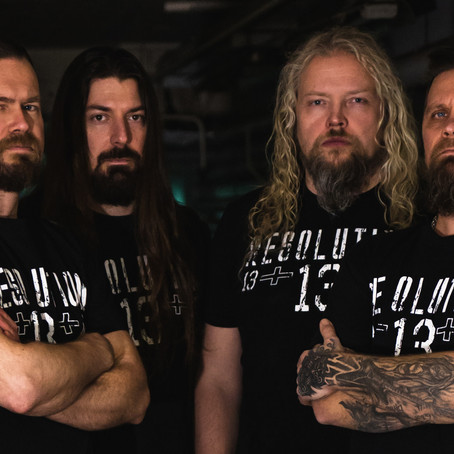 "Finnish industrial act RESOLUTION 13 drop live video ""Colossal"" from EMERGENZA FESTIVAL 2019"