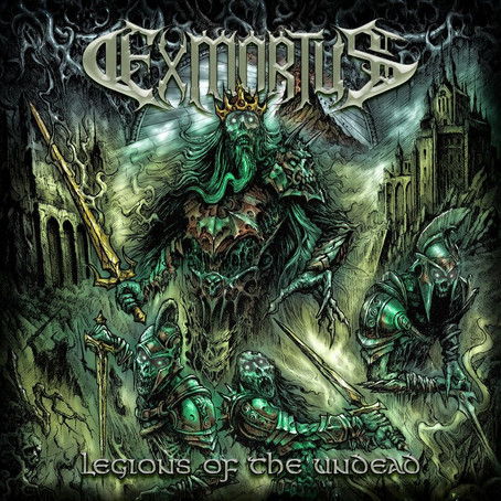 EXMORTUS horror themed EP due Oct. 25th + CAN/US tour dates with DEATH ANGEL