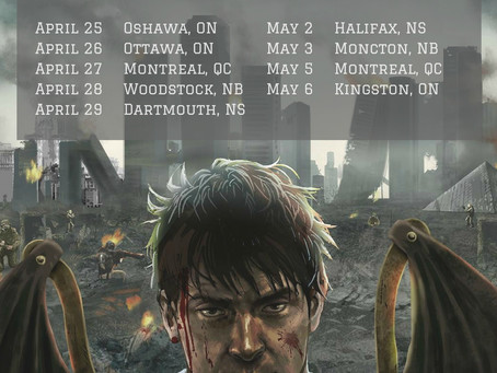 Toronto's UFORIA announce Eastern Canadian tour dates presented by PureGrainAudio.com