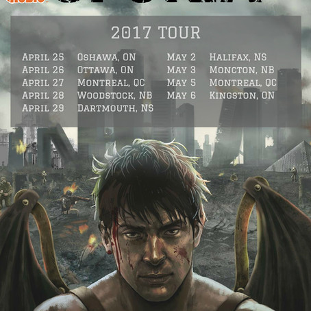 Toronto's UFORIA announce Eastern Canadian tour dates presented by PureGrainAudio.com