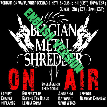 Belgian Metal Shredder: Grave Digger/Dee Snider/Neroargento & more! (English)