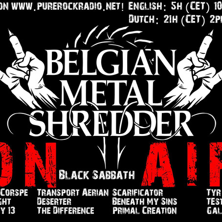 Belgian Metal Shredder: 50e verjaardag van Black Sabbath-debuut! (Dutch Versie)