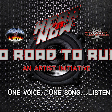 "Multi-artist COVID initiative HEAR N' NOW drop ""No Road to Ruin"" track for Charity"