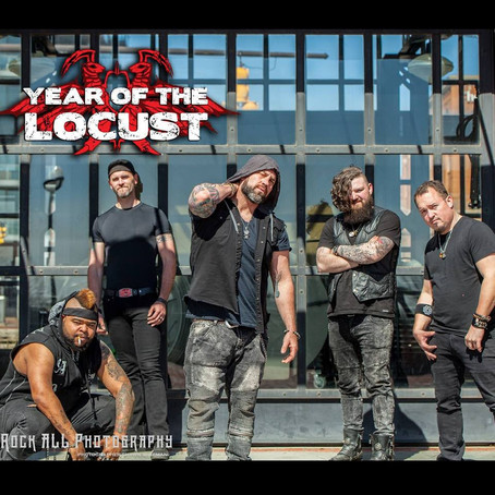 YEAR OF THE LOCUST announce tour dates with SALIVA plus headlining shows May/June 2018