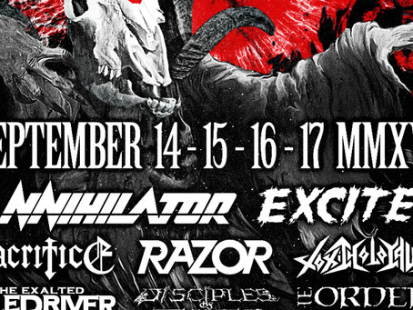 CALGARY METALFEST to host Live charity auction (Sept 14-17) for MAKE-A-WISH FOUNDATION