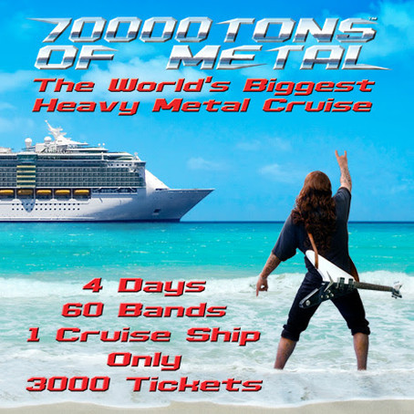 70000TONS OF METAL: first 10 bands for round X of world's biggest metal cruise!