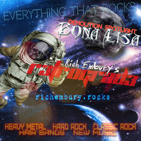 (Podcast) Rich Embury's R3TR0GRAD3: Hot Rock, Heavy Metal & Bona Lisa!