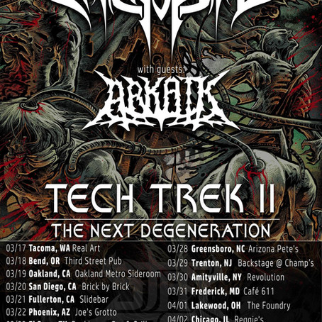 ARCHSPIRE embark on headlining US tour + support for PSYCROPTIC in Canada