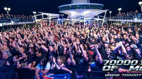 Metal fest at sea, 70000 TONS OF METAL announce first 16 bands & sales dates