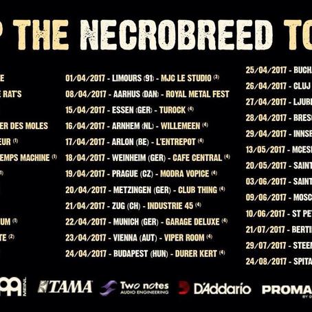 BENIGHTED kick off headlining European tour