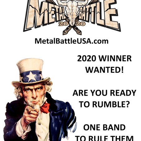 Reminder: WACKEN METAL BATTLE USA 2020 Band Submissions Open