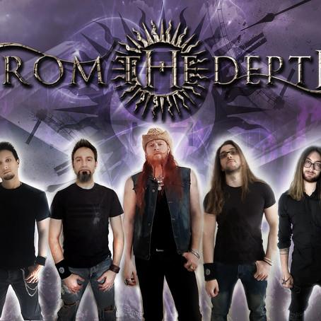 "Italian power metallers FROM THE DEPTH drop new single ""Immortal"" (Rockshots Records)"