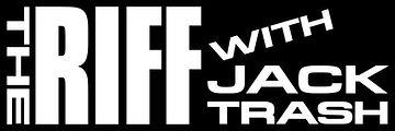 The Riff with Jack Trash (Bumper Sticker Logo)