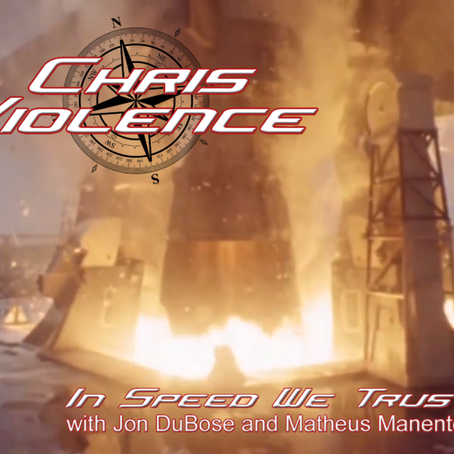 """CHRIS VIOLENCE debuts new single/video """"In Speed We Trust"""""""