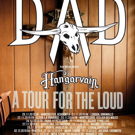 D-A-D add Nov. Manchester/London dates! 'A Prayer For The Loud' out now!!