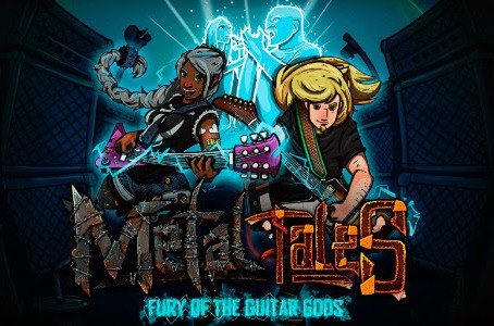 """""""METAL TALES: Fury Of The Guitar Gods"""" (game) avail. at STEAM now! Feat. A BREACH OF SILEN"""