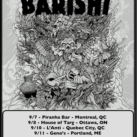 BARISHI announce Eastern Canadian dates