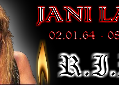 KING HESH: Tribute to the late, great JANI LANE of WARRANT