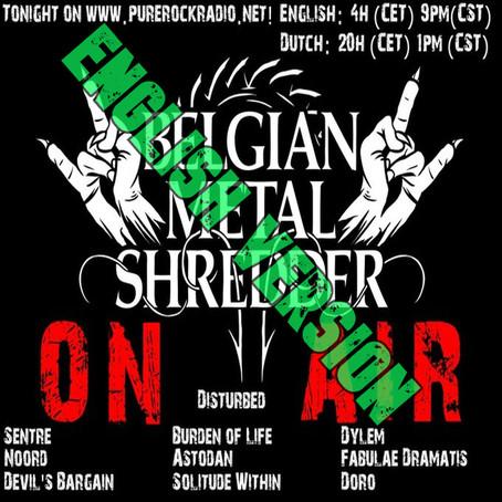 Belgian Metal Shredder: New Tunes & Iconic Anthems (English)