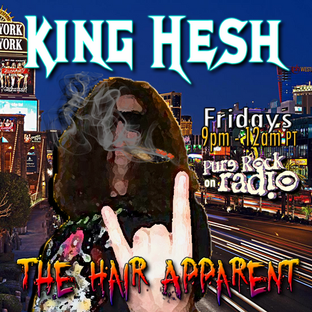 King Hesh: Metal Church / Jetboy / Bonfire / Red Dragon Cartel
