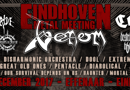 EINDHOVEN METAL MEETING adds MY DYING BRIDE, DARKANE, DIABOLICAL, HAUNTED and 4 more to line-up!