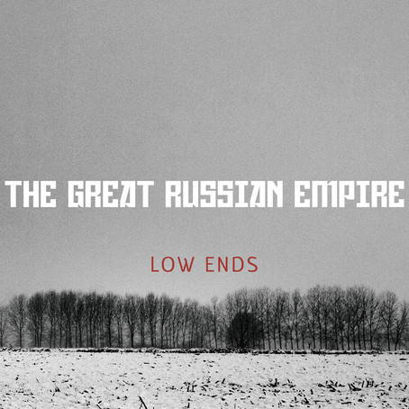 Out now! Montreal two bass band THE GREAT RUSSIAN EMPIRE (TGRE) debut EP 'Low Ends'