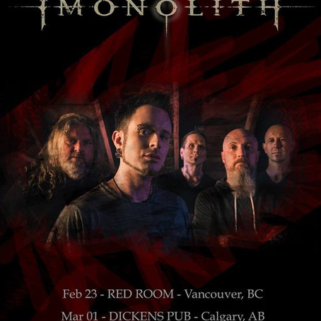 IMONOLITH announce debut Canadian show dates