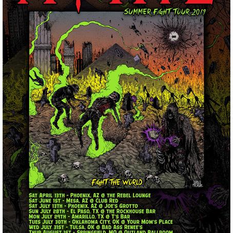 "Phoenix Thrashers MOTIVE To Release ""Fight The World"" On Vinyl + USA Tour Dates"