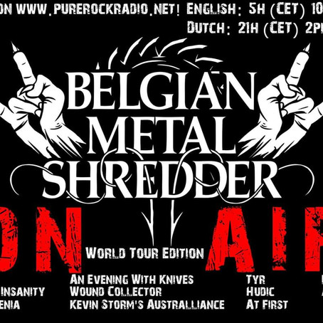 Belgian Metal Shredder: 07 Feb. 2020 (Dutch/Nederlandse)