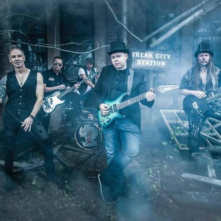 Finnish hard rockers HOOTENANNY FREAKS 'Full Steam Ahead' with new video/single!
