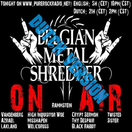 Belgian Metal Shredder: Metaal voor de Coronacrisis (Dutch)
