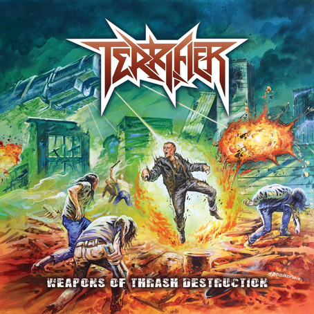 TERRIFIER bring their 'Weapons of Thrash Destruction' to Armstrong MetalFest 2017