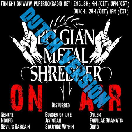 Belgian Metal Shredder: Nieuwe Nummers en Iconische Volksliederen (Dutch)