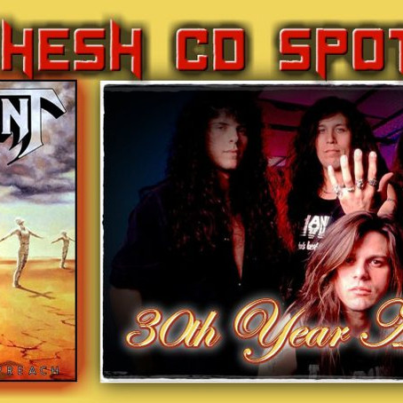 "KING HESH: 30 Year Anniversary of TESTAMENT's ""Practice What You Preach"""