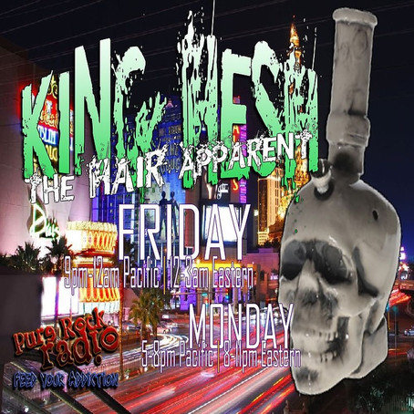 King Hesh: Ozzy Osbourne/Bon Jovi/Biff Byford Premieres!