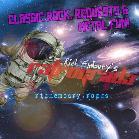 (Podcast) Rich Embury's R3TR0GRAD3: Classic Rock, Requests & Metal Fun!
