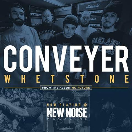 New CONVEYER album 'No Future' out June 23rd; CAN/US Tour kicks off May 20th