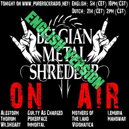 Belgian Metal Shredder: New Metal & Belgian Beats (English)