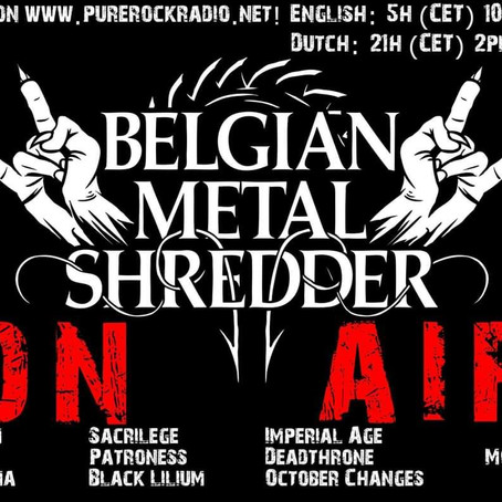Belgian Metal Shredder: 03 January 2020 (Dutch/Nederlandse)