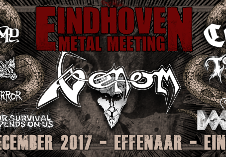 CORONER, BLASPHEMY, BAPTISM and EXTREME NOISE TERROR added to 'Eindhoven Metal Meeting' line