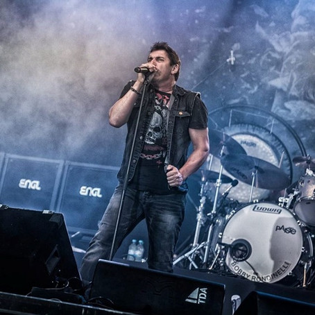 HARDLINE singer JOHNNY GIOELI set to perform at Bulgarian charity fest (June 2nd)!