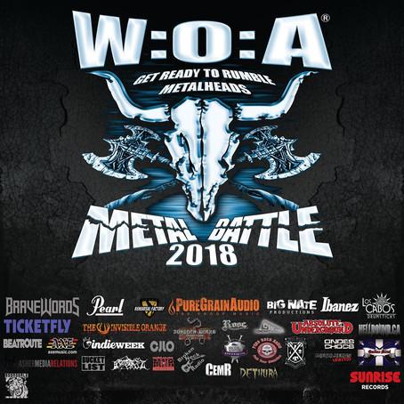 Killing it in Saskatomb for WACKEN METAL BATTLE! (A Metallic Review)