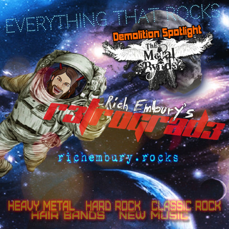 (Podcast) Rich Embury's R3TROGRAD3: NEW Metal & Rock + The Metal Byrds!